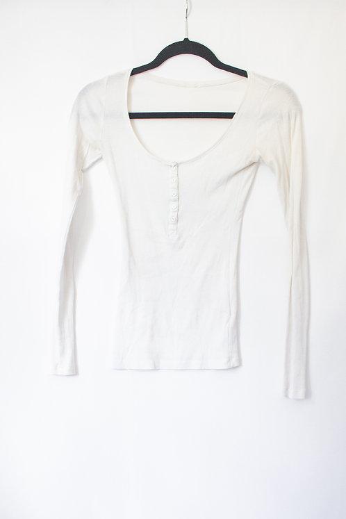 White Long Sleeve (XS)