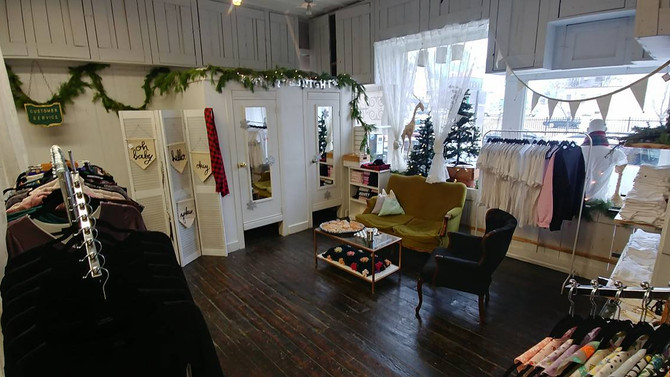 A Pop Up Holiday Shop