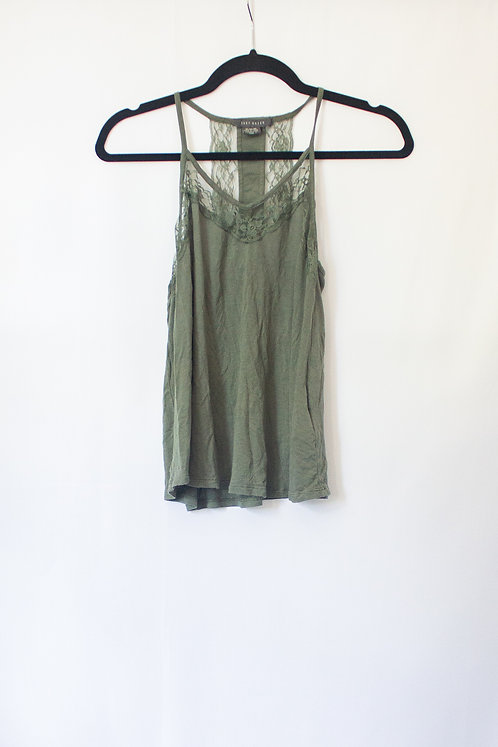 Green Lace Tank (M)