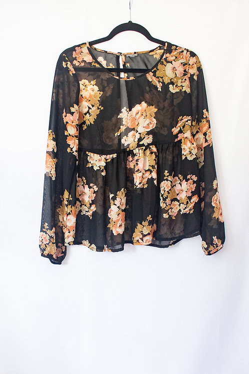 Floral Blouse (S)