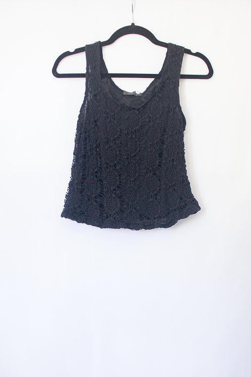Suzy Shier Lace Tank (S)