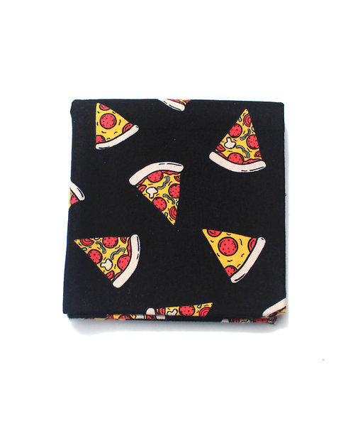 Pizza Print Receiving Blanket