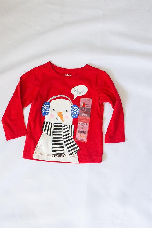Snowman Shirt (9M)- New