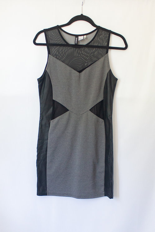 Grey & Black Dress (M)