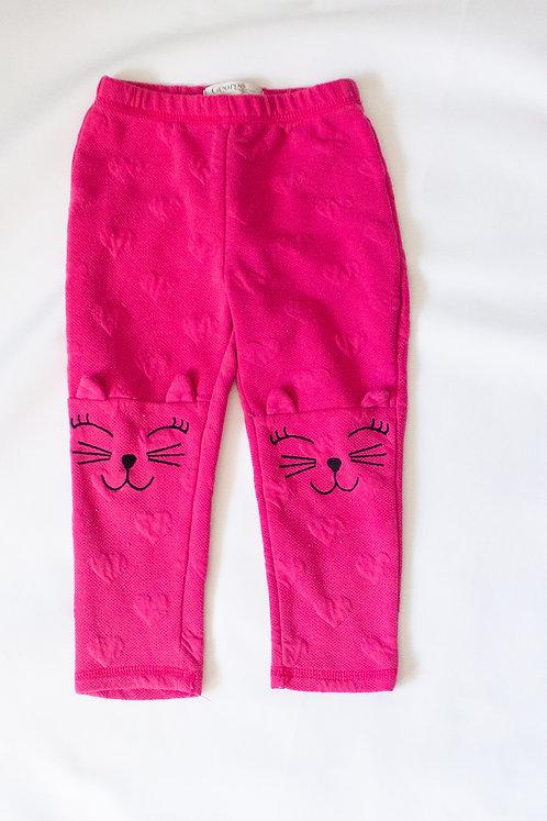 Pink Cat Leggings (18-24M)