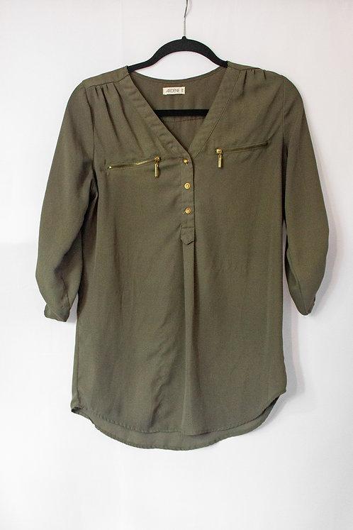 Ardene Dress Shirt (XS) - Fits Big