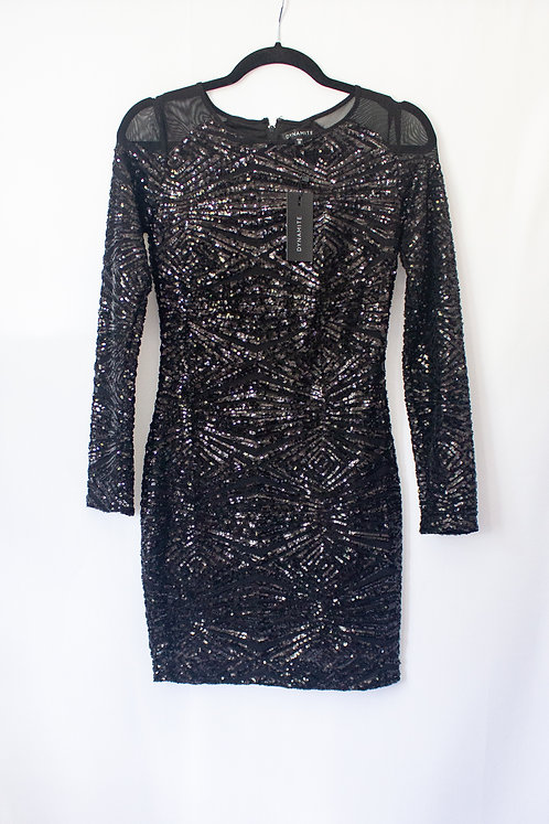 Dynamite Sequin Dress (XS) - New