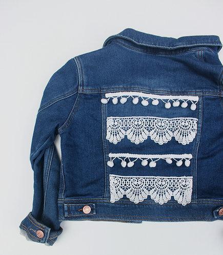 Lace & Tassel Denim Jacket