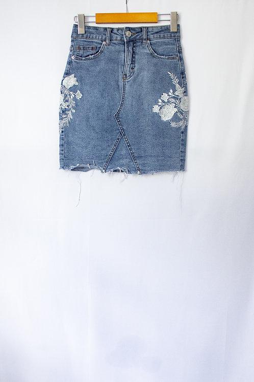 Denim Skirt (XS)