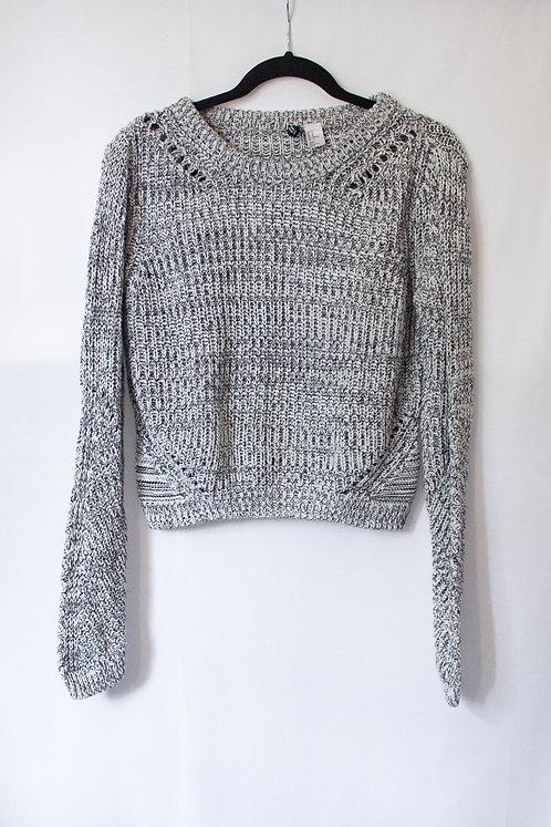 Grey Knit Sweater (M)