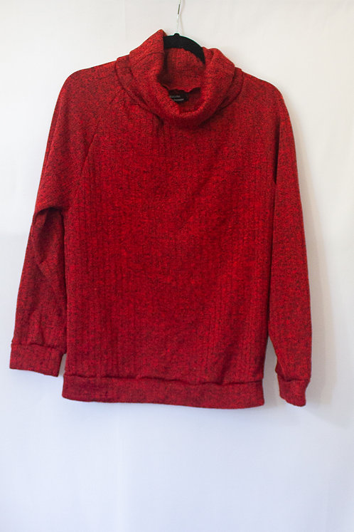 Red Cowl Neck (M)