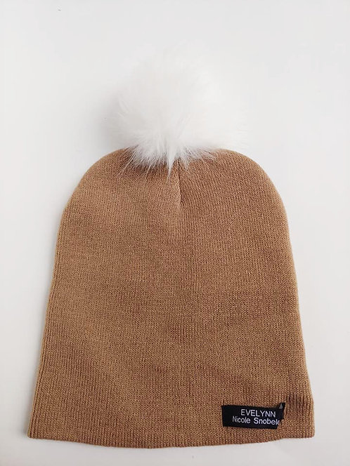 Brown EV Toque - Snowball