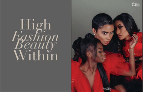 High Fashion Beauty Within