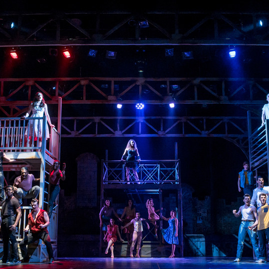 "WEST SIDE STORY ""Riff"" Montclair State University"