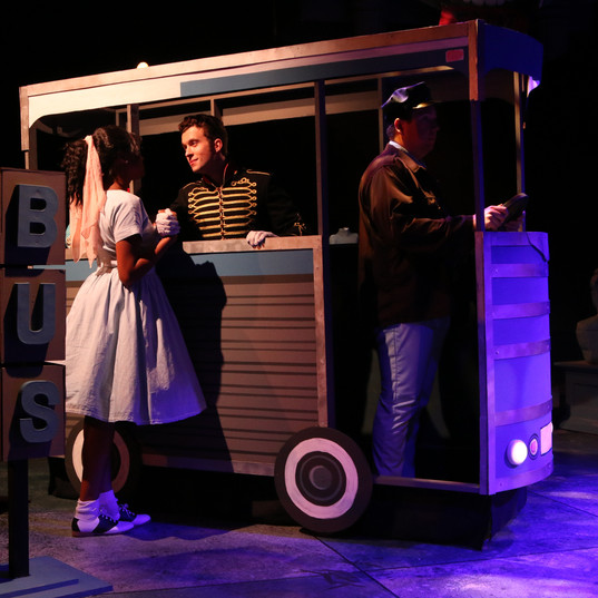 "ALL SHOOK UP ""Dean"" Wagon Wheel Theatre"