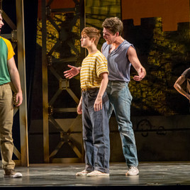 """WEST SIDE STORY """"Riff"""" Montclair State University"""