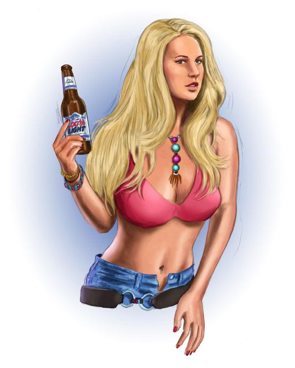Hot Coors Girl