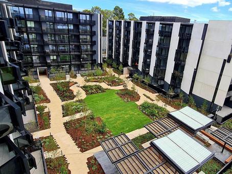 Practical Completion at Burwood Brickworks Apartments