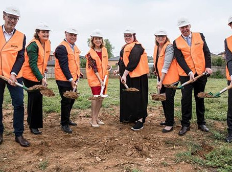 Sod turning for a Greater Cause