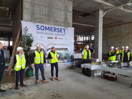 Somerset Private Hospital Celebrate Topping Out
