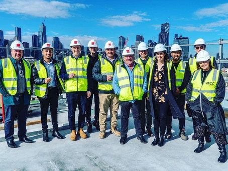VACC tops out