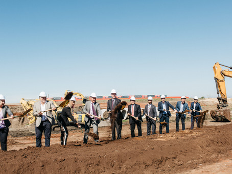 Groundbreaking ceremony at Stage 1 New Epping Residences