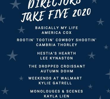 Take 5 Directors & Secret Garden Cast List
