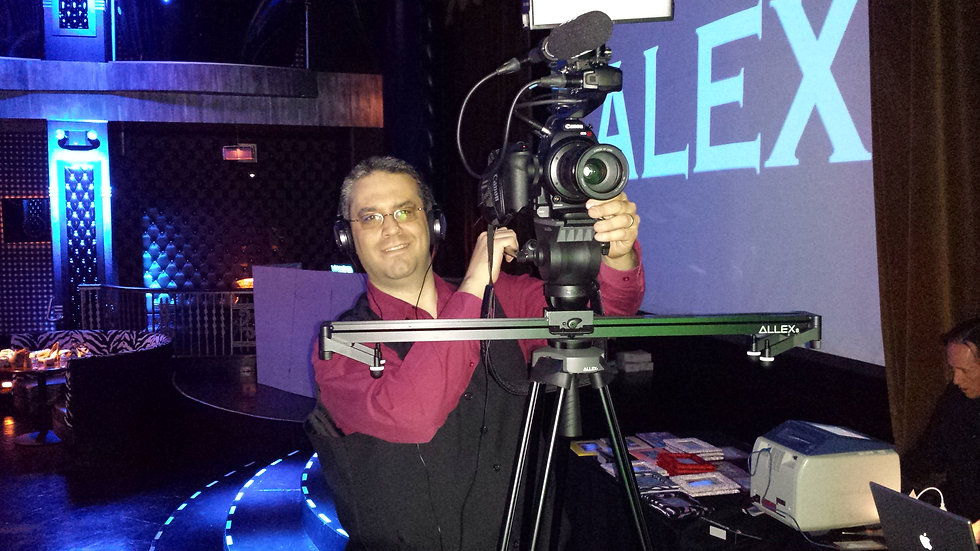 042515 Matt shooting the Alex Desch Bar Mitzvah.jpg