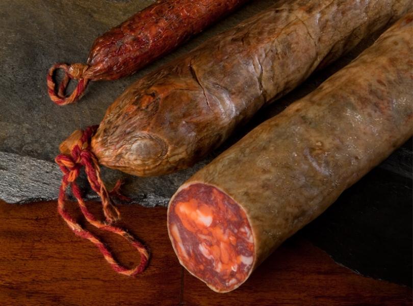 Chorizos IBERICO de BELLOTA CULAR