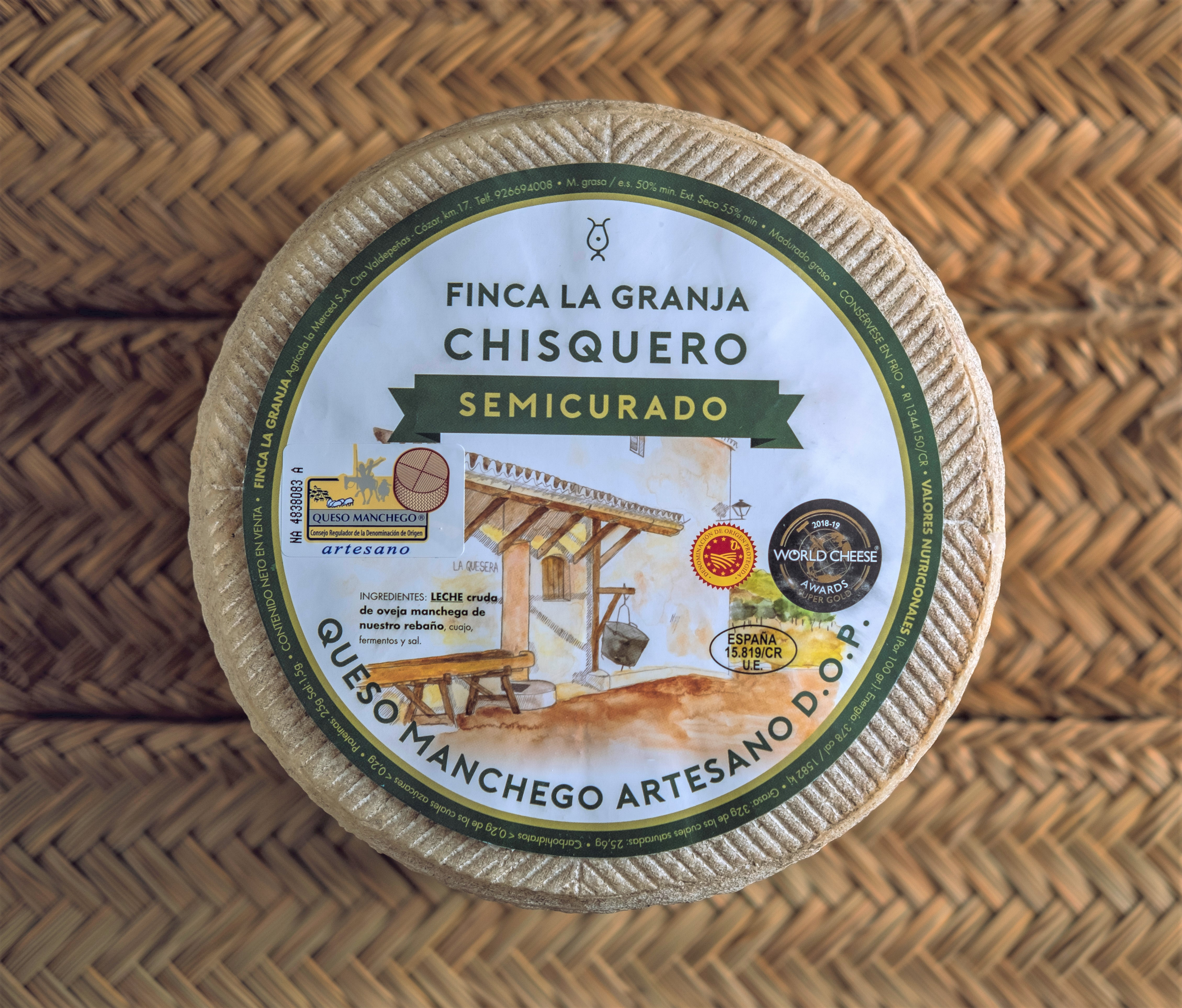 Fromage MANCHEGO - Affinage 4 mois