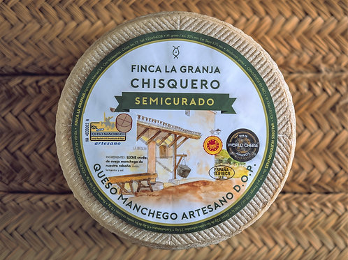 """Fromage MANCHEGO """"CHISQUERO"""" - Affinage 4 mois"""
