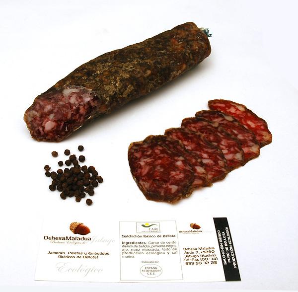 Saucisson IBERICO de BELLOTA Ecologique
