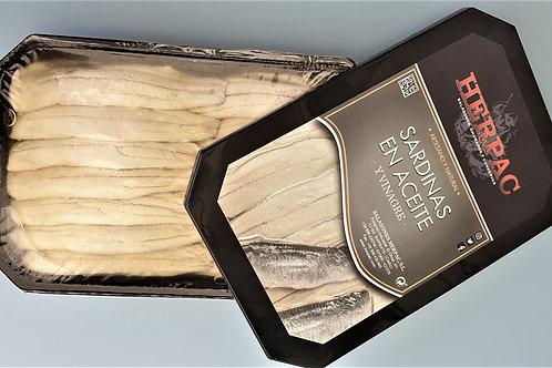 """Sardines à l'Huile et au Vinaigre """"La Belle de CADIX"""" / CADIX 500 gr (16 Kg)"""