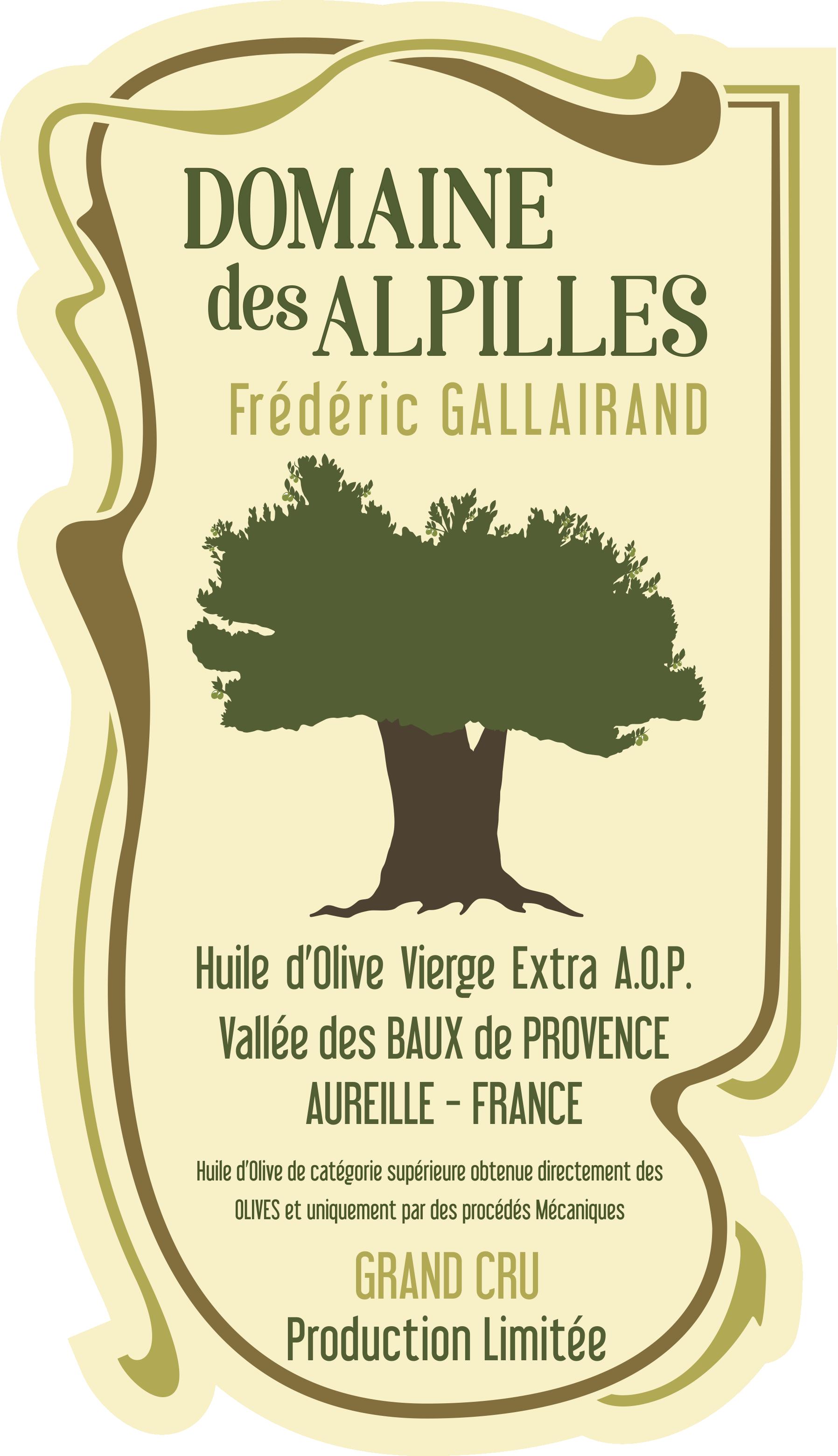 DOMAINE des ALPILLES / L'Excellence