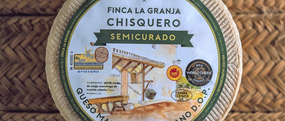 "Fromage MANCHEGO ""Chisquero"" Artisanal"