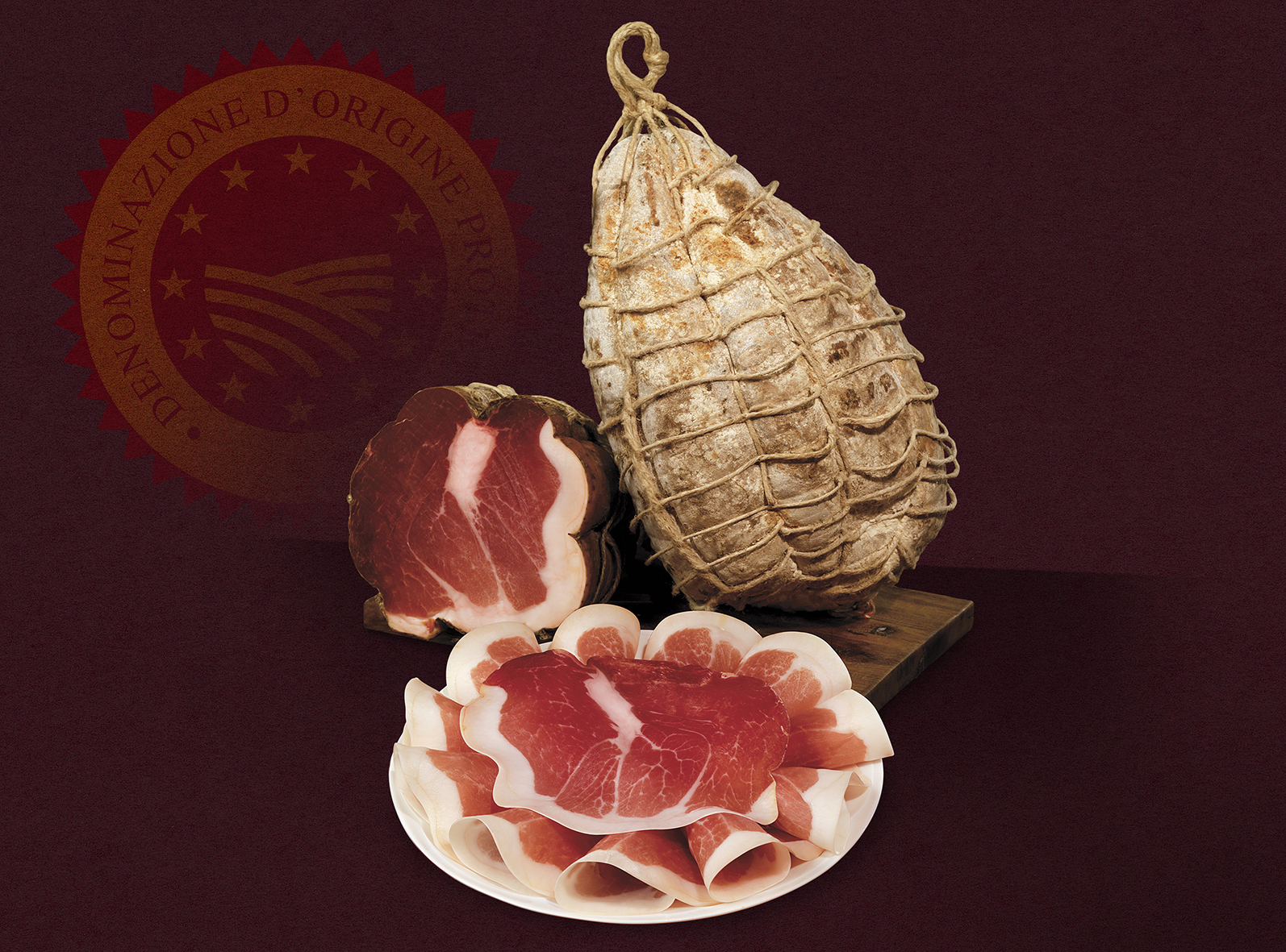 "Jambon CULATELLO di ZIBELLO ""DOP"""
