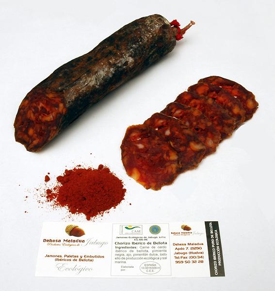 Chorizo IBERICO de BELLOTA Ecologique