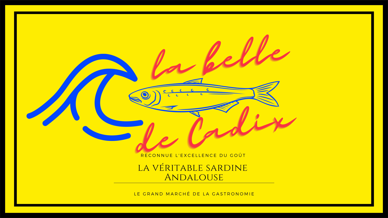 """Sardines à l'Huile et au Vinaigre """"La Belle de CADIX"""""""