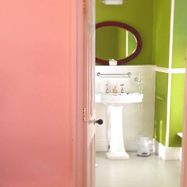 New wooden painted floor brings out colours and light in one of the guests rooms_edited