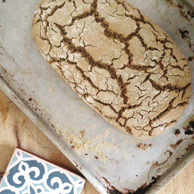 Buckwheat bread. This is experimental but the little buns that went in the oven as a trial were just