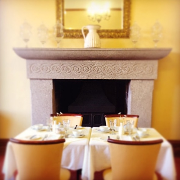 This morning breakfast at Tredethy house in a sun filled room_edited