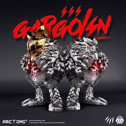 GARGOLIN Battle Damaged Version LIMITED 199 PIECES 憤怒的穿山甲 甲格林 戰損限量版