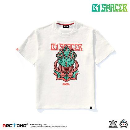 B1 SPACER 避役星人 - Print T-Shirt (WHITE)