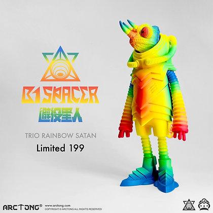 B1 Spacer Trio Rainbow Satan Limited 199 Version