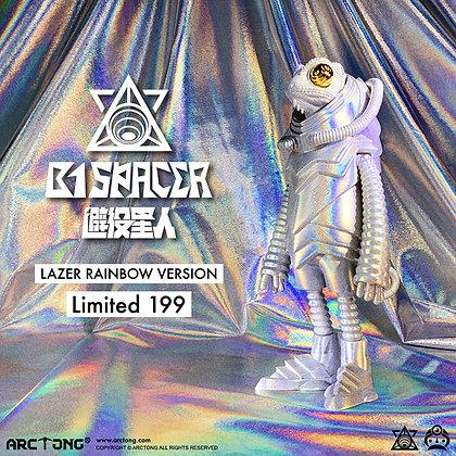 B1 SPACER LASER LIMITED 199 PIECES VERSION 避役星人 鐳射限量版