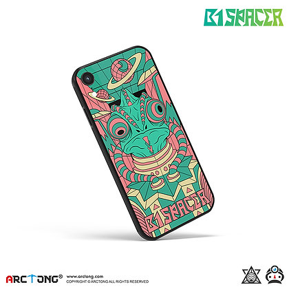 B1 SPACER 避役星人 -Print iPhone Case