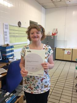 Pauline McCarthy  E&D Certificat
