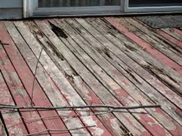 wood decking rot