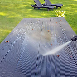 composite decking maintenance