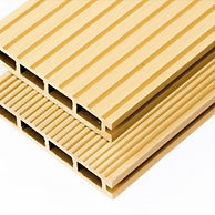yellow composite decking